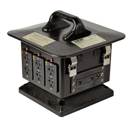 Lex 100a Lunchbox (5 x 20a Outputs) for Rent in Manhattan and Brooklyn