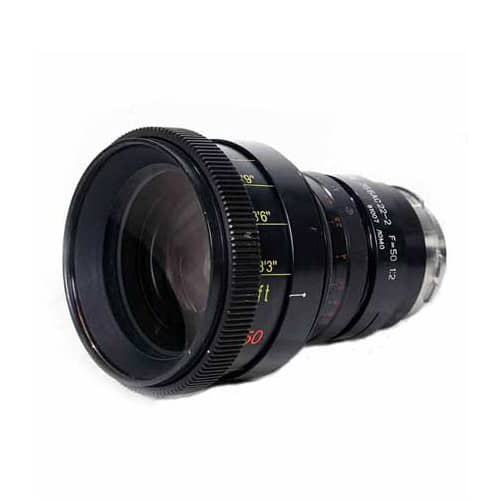 Lomo Anamorphic 50mm Round Front PL Cine Lens for Rent in NYC