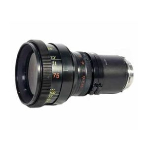 Rent Lomo Anamorphic 75mm Round Front PL Cine Lens NYC