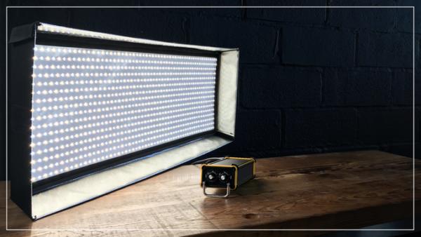 DP Lumi FP-1×1 LED Bi-Color Flexible Light Rental in Nyc