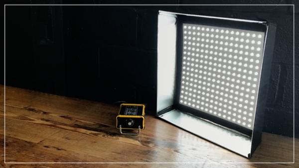 DP Lumi FP-1x1 LED Bi-Color Flexible Light for Rent in Brooklyn, Nyc