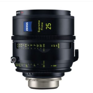 ZEISS 25mm/T1.5 Supreme Prime PL/LPL Lens Rental Nyc