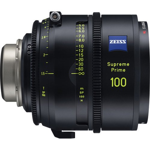 ZEISS 100mm/T1.5 Supreme Prime PL/LPL Lens for Rent Nyc and Brooklyn