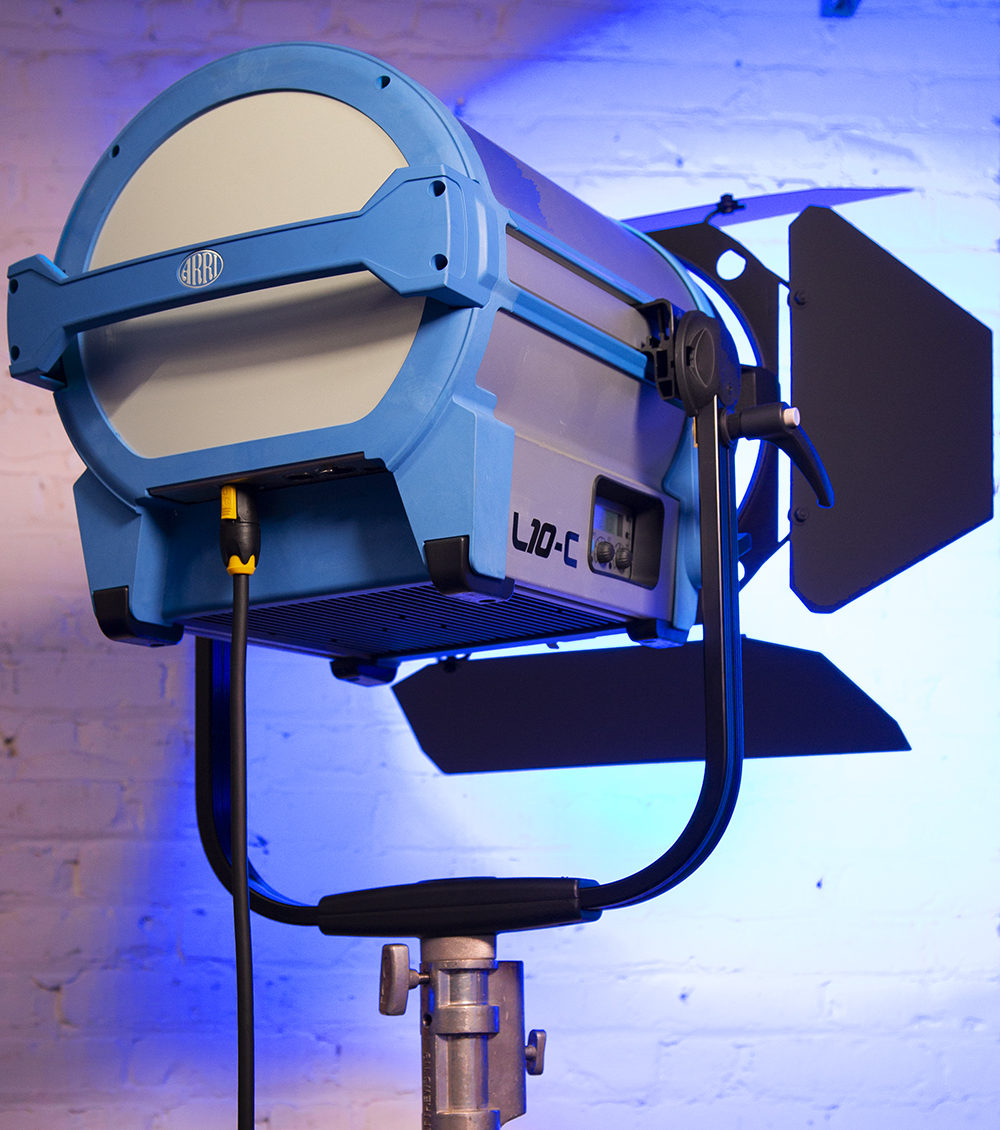 Arri L10-C Color LED Fresnel Light Rental Nyc