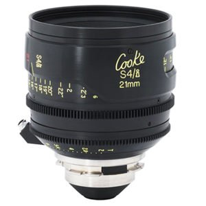 Cooke S4/i 21mm Prime T2.0 PL Lens Rental Nyc