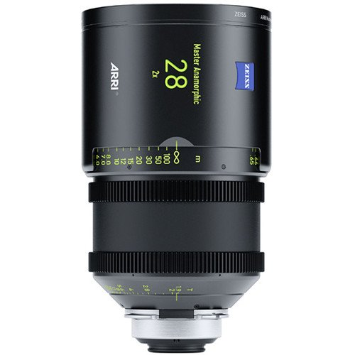 Rent Arri 28mm T1.9 Master Anamorphic PL Lens in Nyc and Brooklyn