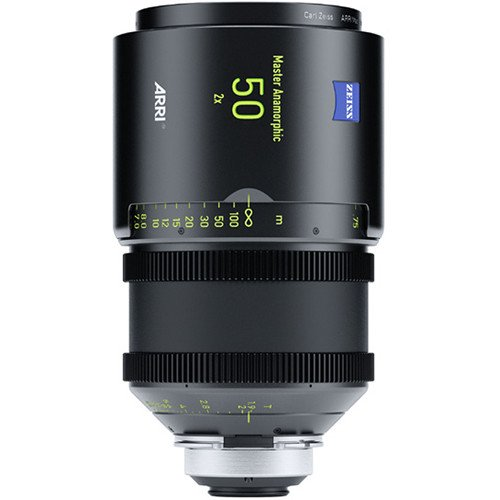 Rent Arri 50mm T1.9 Master Anamorphic PL Lens in Nyc and Brooklyn