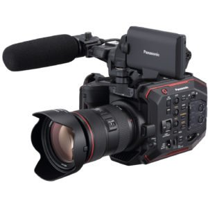 Rent Panasonic AU-EVA1 5.7K S35 EF Handheld Cinema Camera in Nyc and Brooklyn