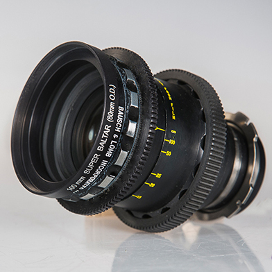 Rent Bausch & Lomb Super Baltar T2.3 100mm PL Lens in Brooklyn and Nyc