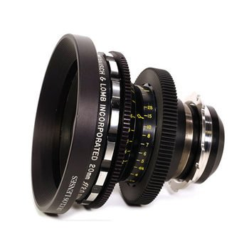 Bausch & Lomb Super Baltar T2.3 20mm PL Lens for Rent in Nyc