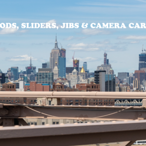 Tripods, Sliders, Jibs & Camera Carts